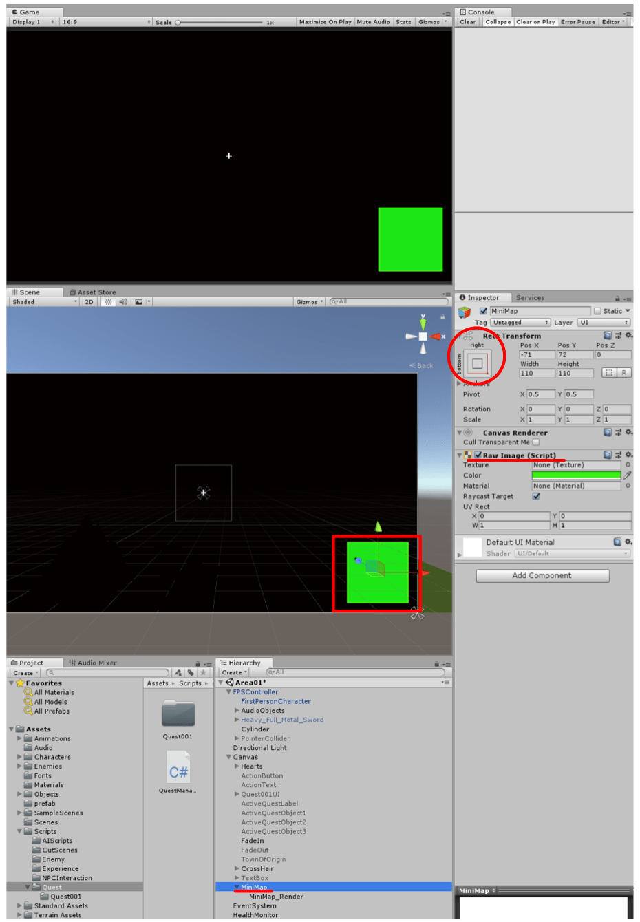 UNITY | PROJECT | RPG Project |17 Mini Map, SkyBox, & Money